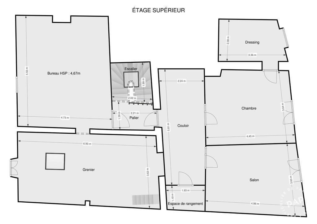 Vente Maison Cabrerolles (34480) 220m² 175.000€
