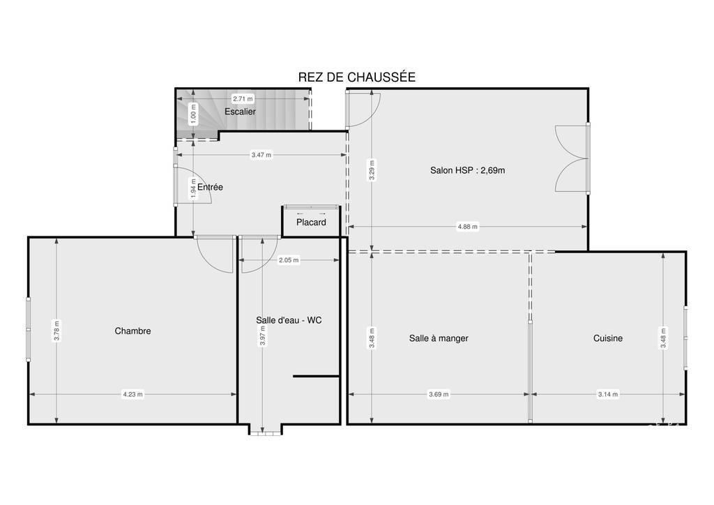 Vente Maison Le Plessis-Brion (60150) 142m² 295.000€