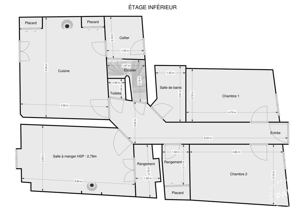 Vente Maison Cabrerolles (34480)