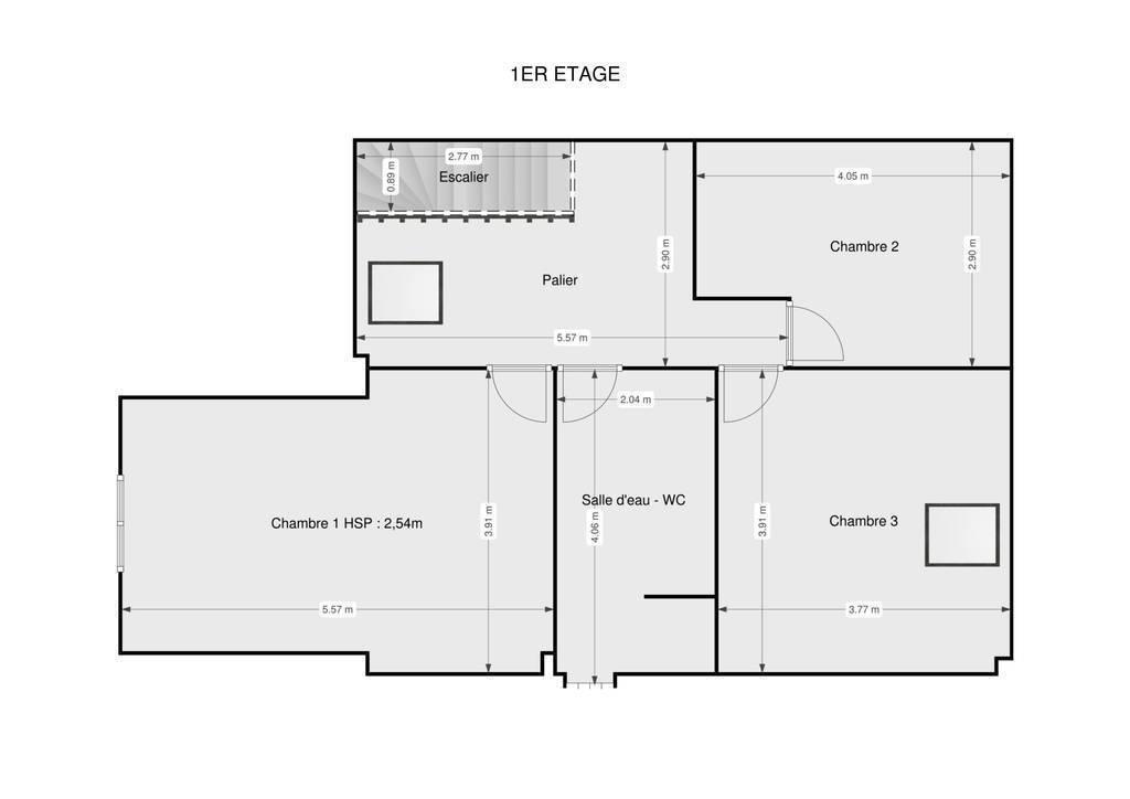 Vente Maison Le Plessis-Brion (60150)