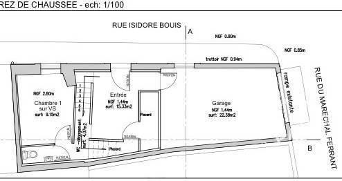 Vente maison 3 pièces Gruissan (11430)