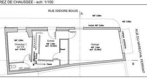 Vente terrain 65m² Gruissan - 198.000€