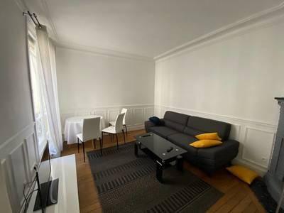 Location meublée appartement 3pièces 50m² Paris 15E - 1.750€