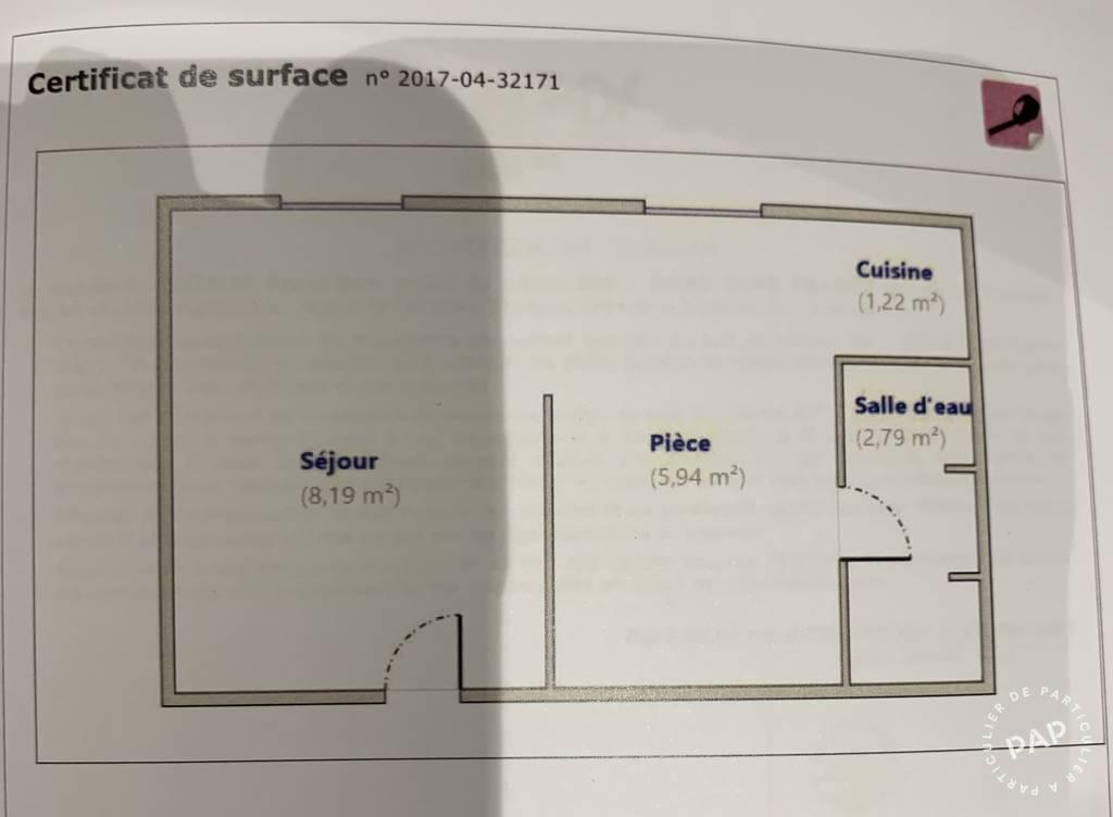 Location Appartement Paris 8E 18m² 900€