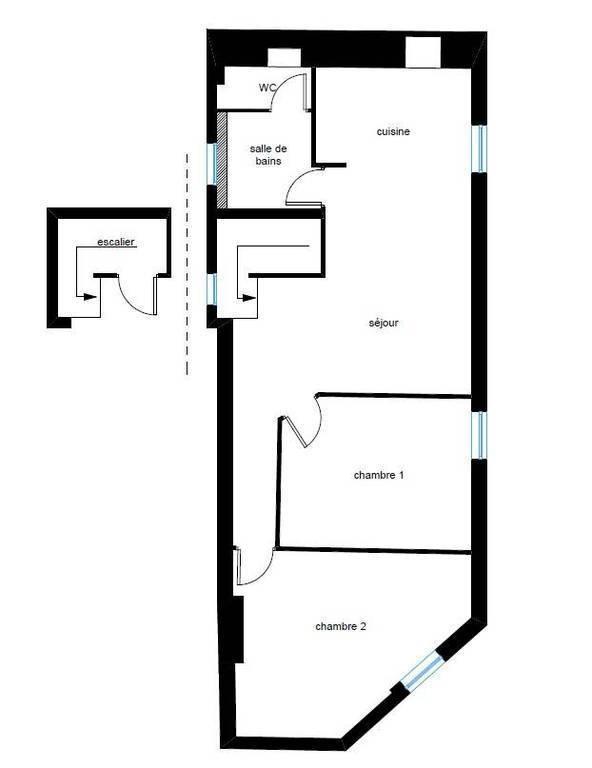 Vente appartement 3 pièces Chenôve (21300)