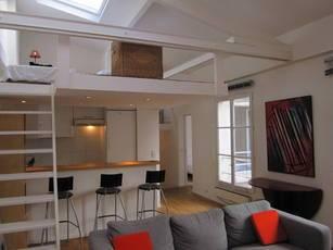 Location meublée appartement 3pièces 65m² Paris 3E - 2.400€