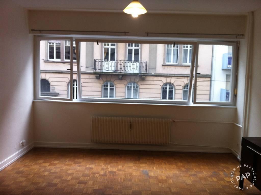 Location Appartement Strasbourg (67) 24m² 440€
