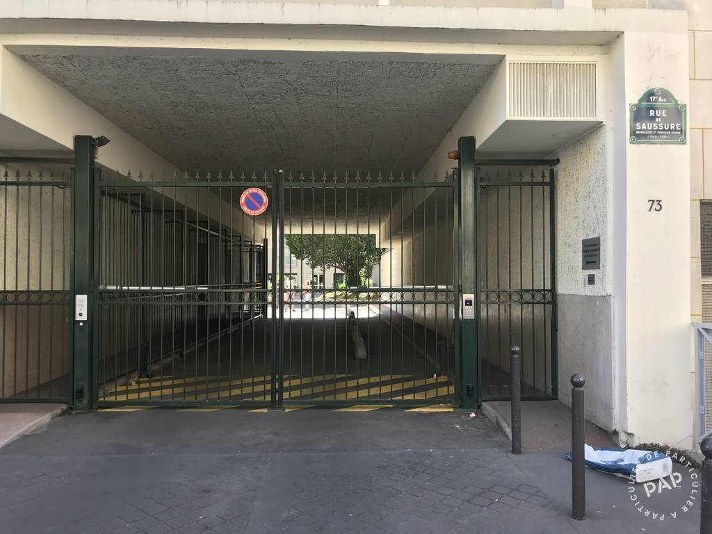 Garage, parking Paris 17E 53.000€
