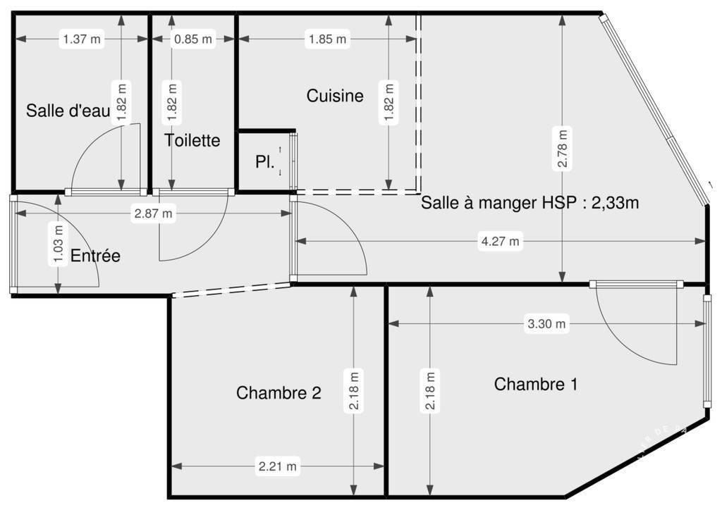 Vente Appartement Saint-Lary-Soulan (65170) 30m² 86.000€