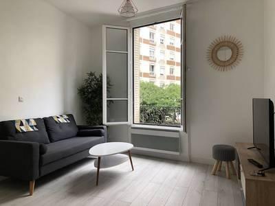 Location meublée appartement 2pièces 36m² Asnieres-Sur-Seine (92600) - 1.100€