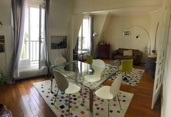 Location meublée appartement 3pièces 55m² Paris 16E - 1.800€