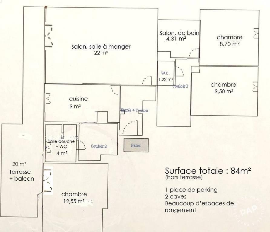 Immobilier Le Pre-Saint-Gervais (93310) 590.000€ 84m²