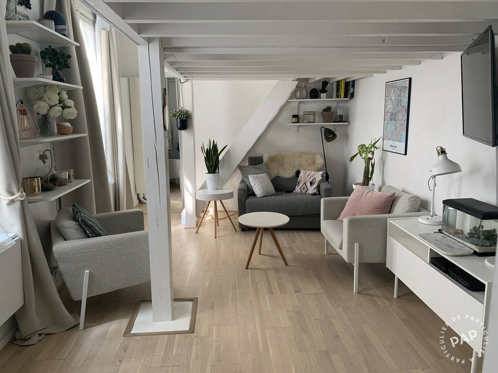 Vente appartement studio Paris 4e
