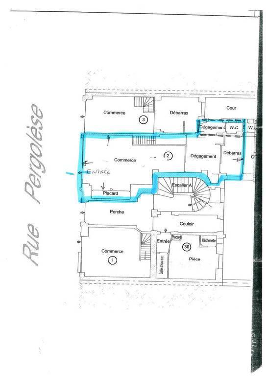 Vente et location Fonds de commerce Paris 16E 63m² 120.000€