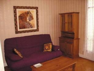 Location meublée chambre 42m² Nice - 557€