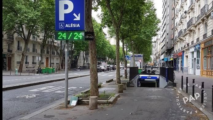 Location Garage, parking Paris 14E  130€