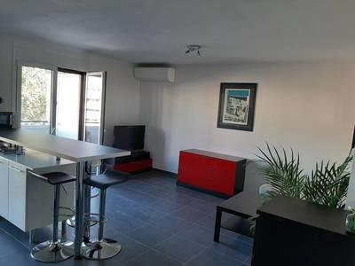 Location meublée appartement 3pièces 54m² Marseille 10E - 900€