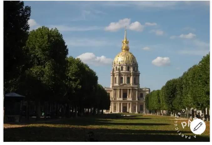 Location immobilier 2.600€ Paris 7E