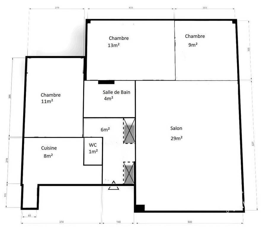 Appartement Le Vesinet (78110) 440.000€