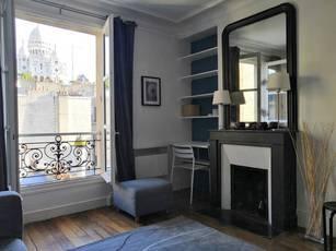 Location meublée appartement 2pièces 29m² Paris 18E - 1.350€