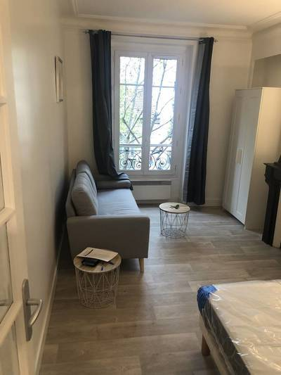Location meublée studio 30m² Paris 19E - 1.150€