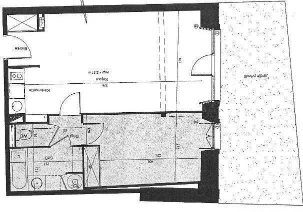 Appartement 54m²