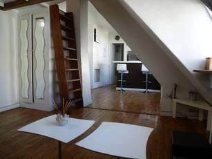 Location meublée studio 22m² Paris 16E - 990€