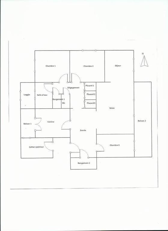 Vente appartement 5 pièces Le Pontet (84130)