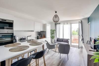 Location meublée chambre 11m² Evry (91000) - 527€