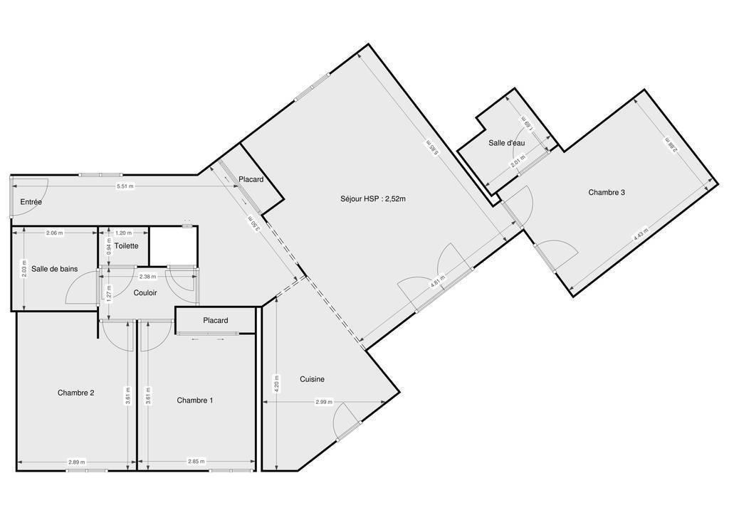 Vente Appartement La Roque-D'anthéron 93m² 230.000€