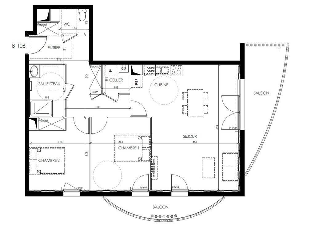 Appartement Merignac (33700) 329.000€