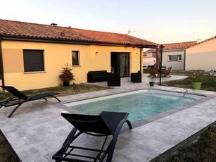 Location meublée maison 95m² Lamasquere (31600) - 1.150€