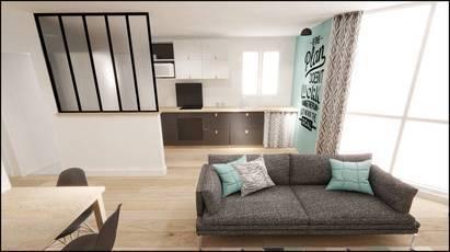 Location meublée chambre 11m² Montigny-Le-Bretonneux (78180) - 645€