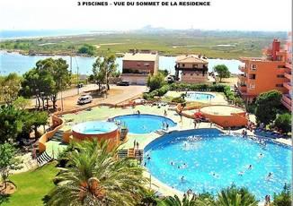 Location meublée appartement 2pièces 31m² Santa Margarita - Rosas - 450€