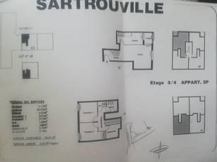 Vente appartement 3pièces 66m² Sartrouville - 198.500€