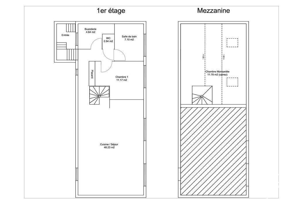 Vente Meaux (77100) 92m²