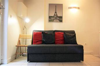Location meublée appartement 2pièces 25m² Paris 4E - 1.150€