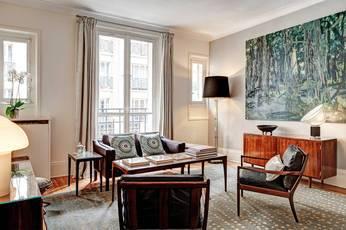 Location meublée appartement 2pièces 65m² Paris 15E - 2.600€