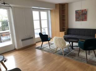 Location meublée appartement 2pièces 55m² Paris 1Er - 2.400€