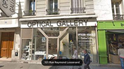 Local commercial Paris 14E - 100 m² - 1.100.000 €