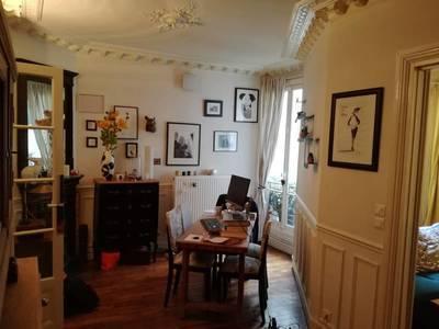 Location appartement 2pièces 47m² Paris 17E - 1.290€