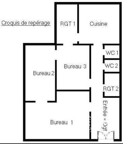 Bureaux et locaux professionnels Meaux (77100) 1.150€