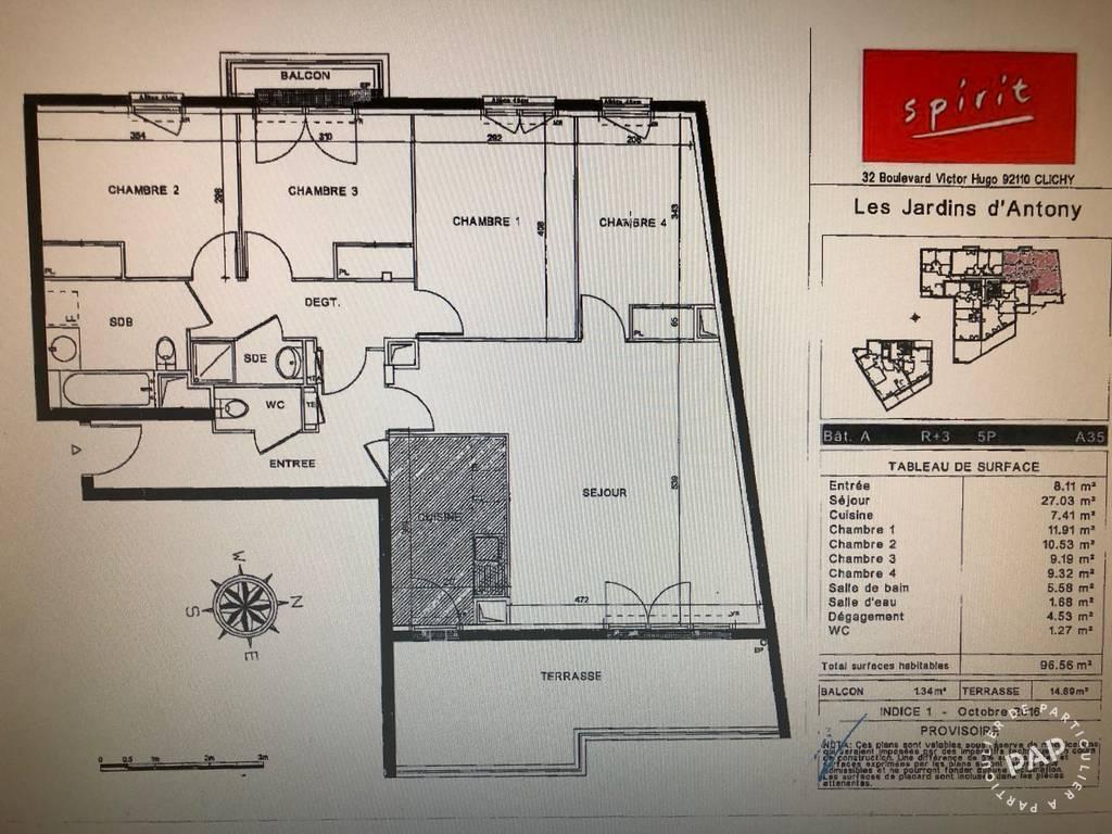 Location Appartement 97m²