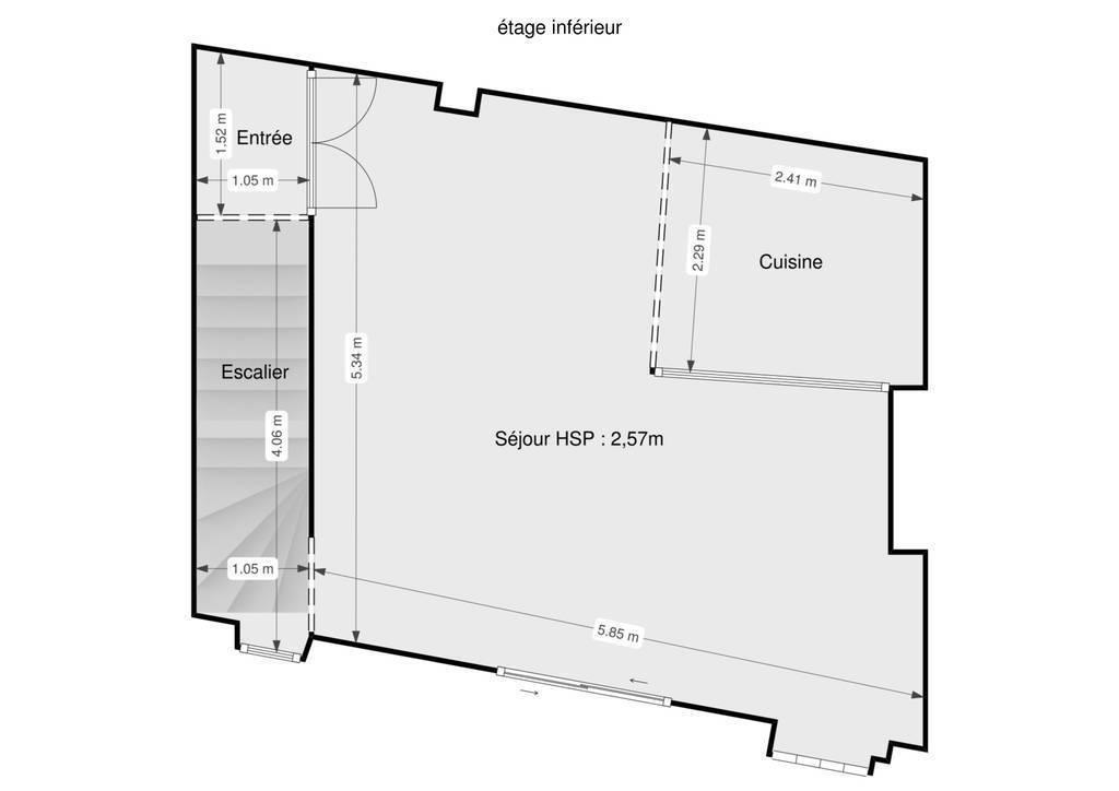 Vente Maison Bedarieux (34600) 100m² 117.000€