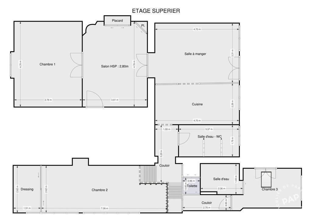 Vente Appartement Poissy (78300) 107m² 499.000€