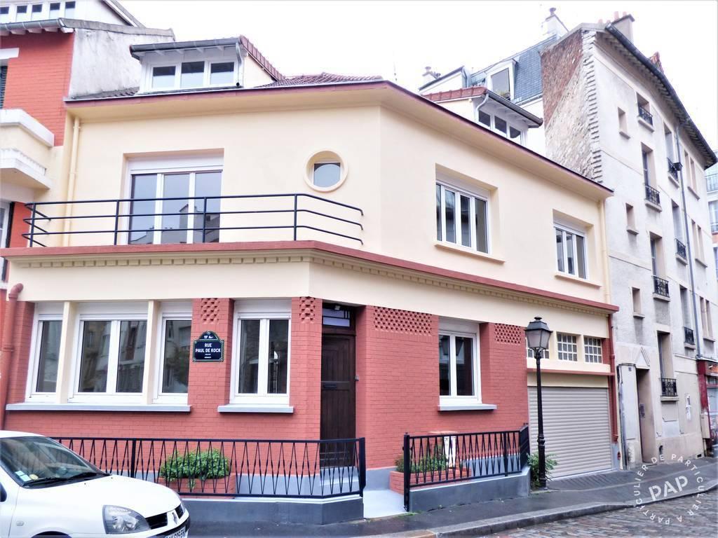 Vente Maison Paris 19E 276m² 1.890.000€