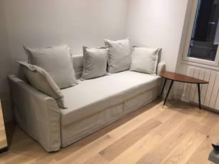 Location meublée studio 16m² Paris 17E - 720€