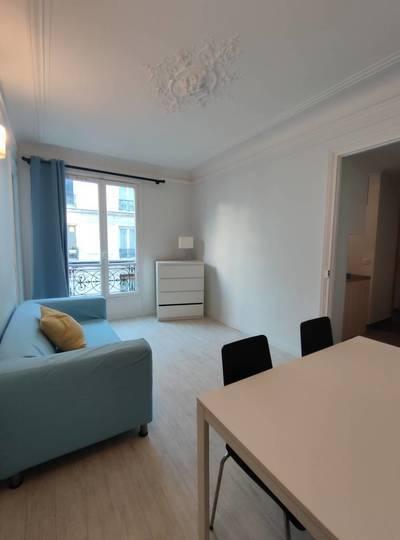 Location meublée appartement 2pièces 36m² Paris 15E - 1.320€