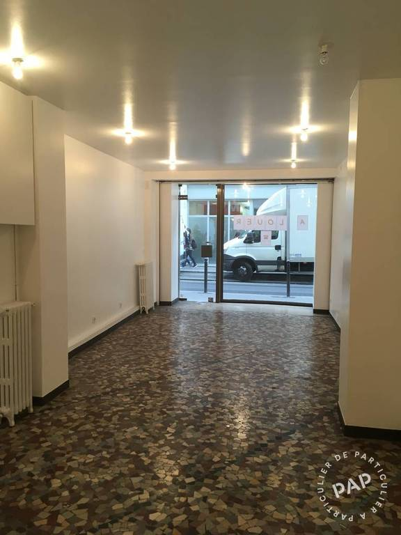 Location Local commercial Paris 10E 32 m² 1.490 €