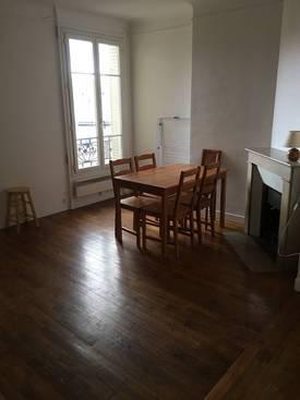 Location meublée appartement 2pièces 38m² Paris 20E - 1.160€